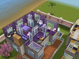 Sims Freeplay Second Floor by House 60 Rainbow Community Purple House Level 2 Sims