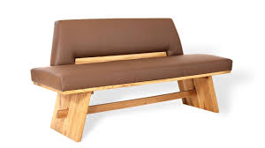 unique klassische sitzbank mit tradition in kunstleder stoff
