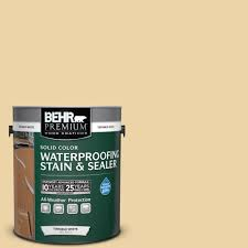 beige cream behr premium wood deck stain exterior stain