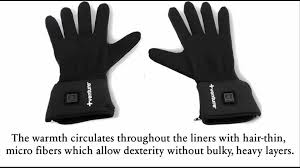 best battery powered heated glove liners review youtube