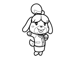 Animal Crossing Coloring Pages For Kids 3