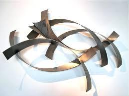 Metro Modern Curtis Jere Abstract Metal Wall Sculpture Art