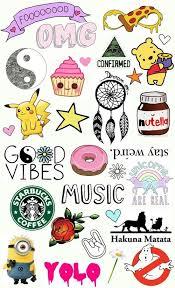 Starbucks Clipart Collage Tumblr 173219