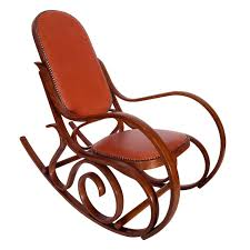 Early 20th Century Art Nouveau Thonet Rocking Chair In Steam Bent ... Michael Thonet Black Lacquered Model No10 Rocking Chair For Sale At In Bentwood And Cane 1stdibs Amazoncom Safavieh Home Collection Bali Antique Grey By C1920 Chairs Vintage From Set Of 2 Leather La90843 French Salvoweb Uk Worldantiquenet Style Old Rocking No 4 Caf Daum For Sale Wicker Mid Century Modern A Childs With Back Antiques Atlas