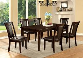 Cheap Kitchen Table Sets Canada by Amazon Com Furniture Of America Simone Contemporary Wooden