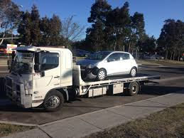 Towing A Toyota Yaris From Hertz Car Rentals In #Mascot To Glaser ...