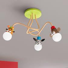 Genius And Cute Safari Animals Ceiling Light Take The Jungle