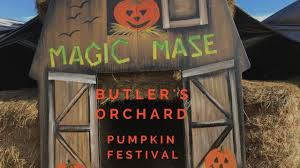 Pumpkin Picking Farms In Maryland by Butlers Orchard Pumpkin Festival Is Family Fun In Montgomery