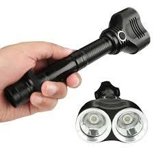 aliexpress buy cree t6 dual xm l led bulbs 1800 lumens 18650