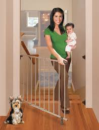 Amazon.com : Summer Infant Top Of Stairs Simple To Secure Metal ... Amazoncom Summer Infant Deluxe Stairway Simple To Secure Wood Gate For Top Of Stairs With Banister The 6 Baby Gates Regalo Extra Tall 2754 With Swing Door Ideas Mounting Hdware All The Best Multiuse Walkthru Of Metal Sure Customfit 9198 Toddler Multi Use Walk Thru White Youtube 33 In And Stair Dual Deco