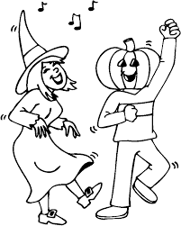 Coloring Page Activity Halloween Costume