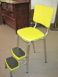 Cosco Retro Chair With Step Stool Black by Kitchen Ideal Kitchen Step Stool With Kitchen Helper Stool Plans
