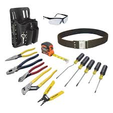 Glass Tile Nippers Home Depot Canada by Klein Tools Electrician U0027s Tool Set 14 Piece 80014 The Home Depot
