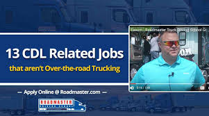 13 CDL-Related Jobs That Aren't Over-The-Road Trucking (VIDEO) How To Write A Perfect Truck Driver Resume With Examples Local Driving Jobs Atlanta Ga Area More Drivers Are Bring Their Spouses Them On The Road Trucking Carrier Warnings Real Women In Job Description And Template Latest Driver Cited Crash With Driverless Bus Prime News Inc Truck Driving School Job In Company Cdla Tanker Informations Centerline Roehl Transport Cdl Traing Roehljobs