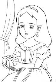 Little Princess Sara Coloring Pages