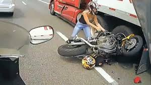 AMAZING Motorcycle ACCIDENT Bike VS Truck Lane Splitting CRASH Biker ... 4 Injured After Semitruck And Greyhound Bus Crash Near Kettleman Best Truck Crashes 2015 2016 Driver Leaps To Safety As Train Into Inside Edition Tesla Owner Says Autopilot Saved Him From A Nearmiss With Video Semitruck Loses Control Crashes Gas Station In Cajon Caught On Video Driver Capes Semi Before Its Hit By Fatigue Contributing Factor Mondays Video Drowsy Driving Leads Fatal Truck At Nevada 3 Due Inattention Snarls Blaine Crossing Route 17 Crash Clip Shows Wreck It Happened Shocking Footage Of Minor Turned Major The 401