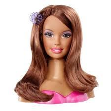 Barbie Head Hair Style African American Barbie Styling Head