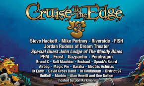 Steve Hackett Yes Cruise Edge
