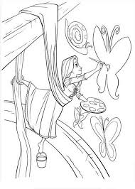 Free Coloring Pages All Kinds Of Disney Character Princess Rapunzel