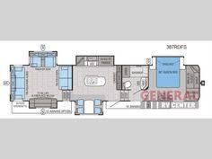 Jayco Fifth Wheel Floor Plans 2018 by Jayco Eagle 355 Mbqs Fifth Wheel Floor Plan Camping Pinterest