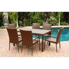 Sams Patio Dining Sets by Sunjoy Simone Dining Sams Club Patio Furniture 6 Woven Chairs All