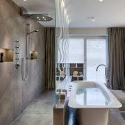 beton im bad i modernes gestaltungselement badezimmer