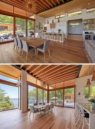 100 Wood Cielings Moderncottageinteriorhighwoodceiling14091812305