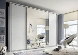 details zu schwebetürenschrank syncro schiebetür kleiderschrank schrank 3 15m weiß spiegel