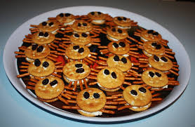 Rice Krispie Halloween Treats Spiders by Mommy Can I Lick The Spoon November 2016