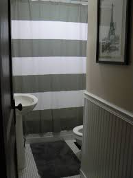 Grey Striped Curtains Target by Bathroom Walmart Shower Curtains Shower Curtain Sets Shower