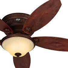 Hunter Fan Contempo 52 Ceiling Fan by Decoration Handsome Hunter Inch Low Profile Bright Brass Finish