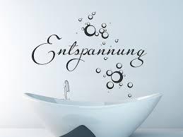 wandtattoo entspannung im bad mit seifenblasen wandtattoo de
