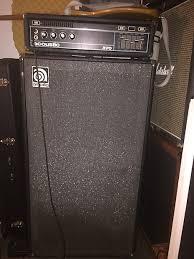 Ampeg V4 Cabinet For Bass by Ampeg V4 B Cabinet Mid 70 U0027s Black Grey Reverb