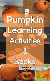 Lumpkin The Pumpkin Book by Pumpkin Learning Activities Letters Science Counting Art