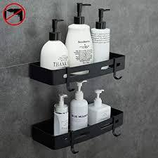 badezimmer duschregal duschkabine ablage organizer nagelfrei