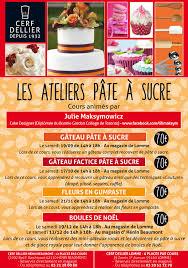cours de cuisine 78 cours pâte à sucre rentrée 2015 les ateliers cuisine cerf dellier