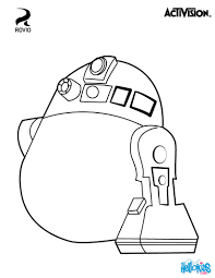 R2 D2 Angry Birds Coloring Page