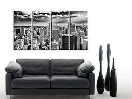 tableau noir et blanc new york collection de tableaux design