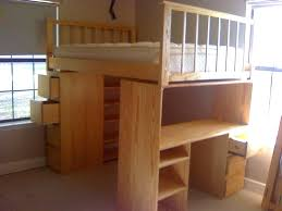 dresser bunk bed desk dresser combo powell rustica all in one