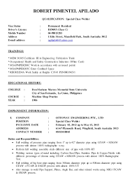 Robert Apilado Updated Resume