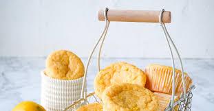 low carb muffins mit quark und zitrone