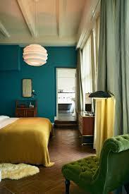 bleu chambre chambre bleu canard avec quelle couleur accords classe et idées