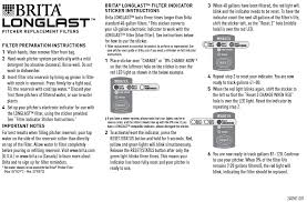 Brita Faucet Mount Instructions when u0026 how to change water filters u0026 cartridges brita