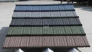 coated steel roofing tile makuti grained tile zj07 lysf