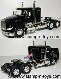 100 Toy Peterbilt Trucks DCP 4074cab 579 With 44 Sleeper Stampns