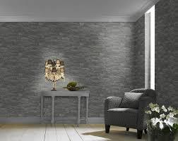 vliestapete factory 2 rasch tapeten 475029 schieferoptik naturstein grau schwarz