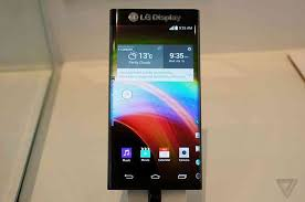 LG Display shows off 6 inch smartphone display with two bent sides