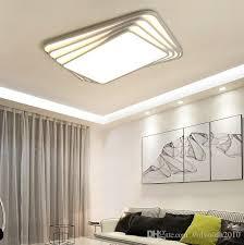 großhandel new square acryl led deckenleuchte moderne wohnzimmer deckenleuchte fernbedienung deckenleuchte leuchte llfa volvo dh2010 126 54 auf