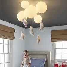baby kinderzimmer schöne decke lichter kreative bär