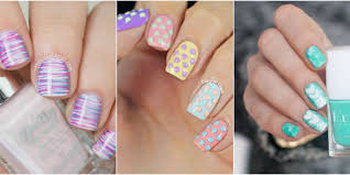 21 Cute Easter Nail Designs Easy Easter Nail Art Ideas Awesome ... 65 Easy And Simple Nail Art Designs For Beginners To Do At Home Design Great 4 Glitter For 2016 Cool Nail Art Designs To Do At Home Easy How Make Gallery Ideas Prices How You Can It Pictures Top More Unique It Yourself Wonderful Easynail Luxury Fury Facebook Step By Short Nails Short Nails